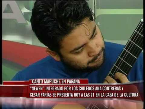 El Grupo Musical Newen Interpreta Musica Mapuche Youtube