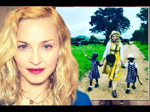 Madonna Confirms Adopting Twin Girls From Malawi, Shares Photo of New Daughter