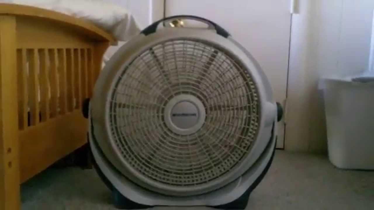 Lasko 20 Wind Machine Fan : Quot lasko wind machine pivot floor fan youtube