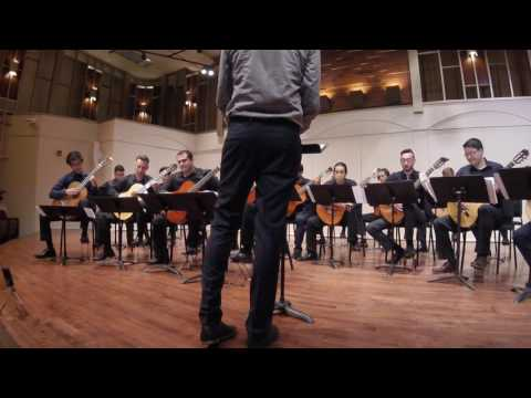 CSUN Guitar Quartet and Orchestra play Concertino Grosso by Daniel Kessner