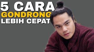 5 CARA CEPAT MEGONDRONGIN RAMBUT PRIA   Gak Pake Ribet !