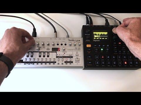 Christopher Kah - Session X with the Elektron DIGITAKT & Roland TB-03