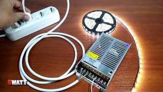 Подключение светодиодной ленты к разным блокам питания(, 2015-09-01T14:38:34.000Z)