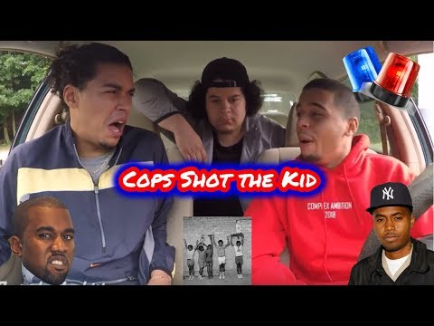 NAS - Cops Shot the Kid (ft Kanye West) REACTION REVIEW