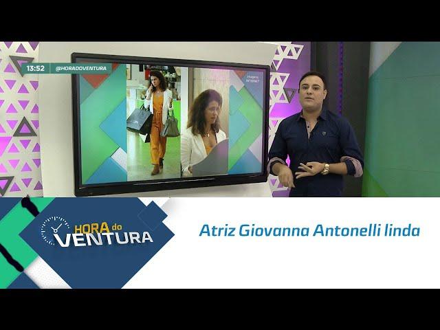 Atriz Giovanna Antonelli linda, livre e leve de cabelo natural!  - Bloco 01