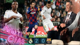 ¡El CLÁSICO y el LIDERATO son del MADRlD! | Cristiano estuvo en el Bernabéu | CITY gana la COPA