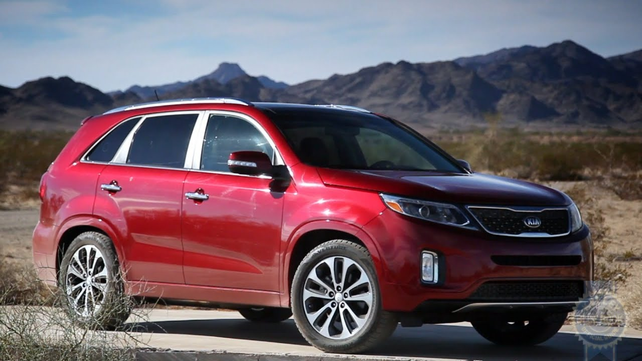 Delightful 2014 Kia Sorento Review   Kelley Blue Book   YouTube
