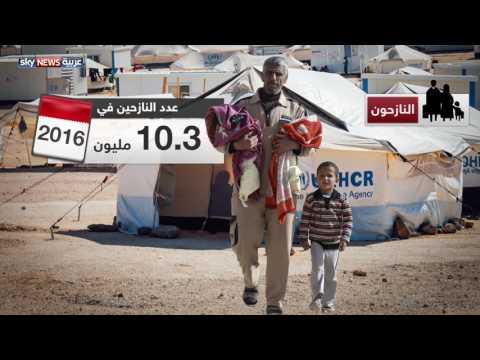 رقم قياسي بعدد اللاجئين العام الماضي  - 04:21-2017 / 6 / 20