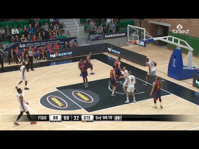 Bakken Bears 100 - 64 Steaua Bucuresti (FIBA Europe Cup)