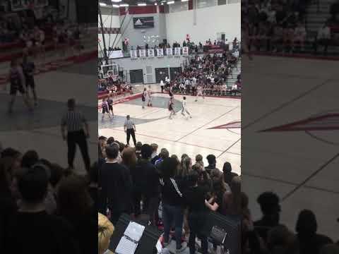 The final game at cedar Valley high school