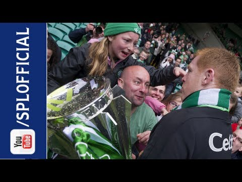 Neil Lennon Gives His Medal To Young Fan, 11/05/2013