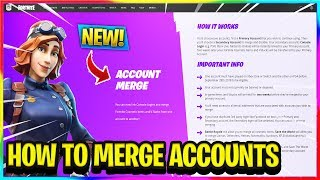 *NEW* HOW TO MERGE ACCOUNTS AND WHAT CAN BE MERGED IN FORTNITE! | Fortnite News and Info
