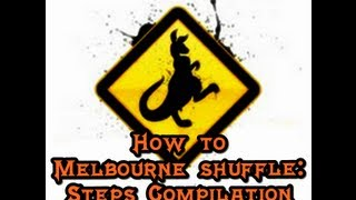 How to Melbourne Shuffle (English - Spanish): Steps compilation. (By Kalamede)
