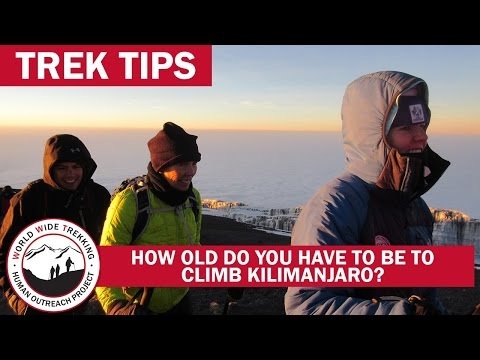 How Old (or Young) Can I Be & Still Climb Kilimanjaro? | Trek Tips