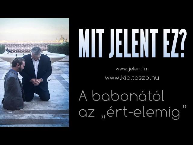 Mit jelent ez? (Orbán Viktor és Nick Vujicic közös imája)