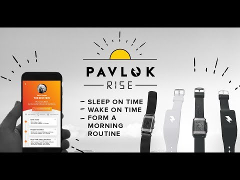 Pavlok Rise Morning Routine Package - IndieGogo Launch Video