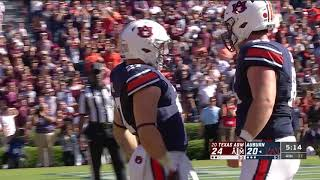 Auburn Football vs Texas A&M Highlights