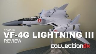 Macross VF-4G Lightning III Toy review - CollectionDX
