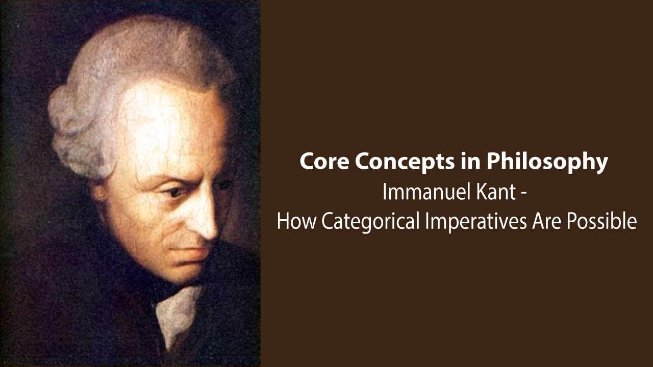 a look at the philosophy of morality by immanuel kant