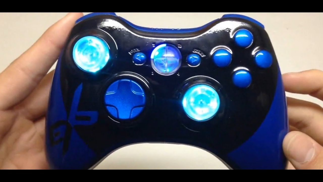Insane Custom Controllers! | Acidic Gaming - YouTube H20 Delirious Controller