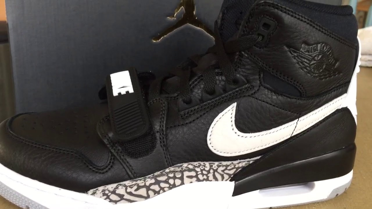 d41ea4591c1 Quick Look At The Don C Air Jordan Legacy 312 Black Cement White ...