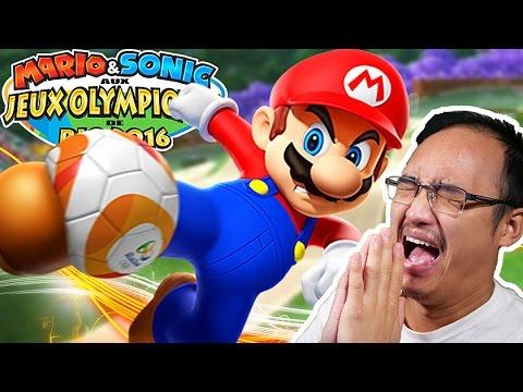 JE ME MARRE SUR CE JEU !   Mario Et Sonic aux Jeux olympiques de Rio 2016