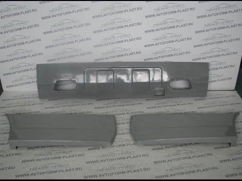 Смотреть Задний бампер ВАЗ 2105,2107