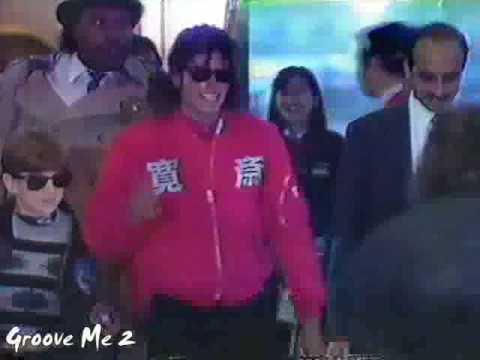 1988 MJ in JAPAN footage