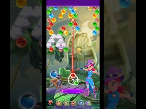 Bubble Witch 3 Saga Level 1305 ~ No Boosters