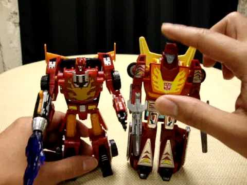 classics universe deluxe hot rod rodimus emgo 39 s transformers reviews 39 n stuff youtube. Black Bedroom Furniture Sets. Home Design Ideas