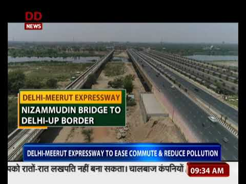 PM to inaugurate EPE and Delhi-Meerut expressway today
