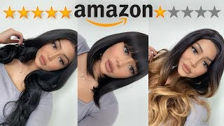 TESTING CHEAP AMAZON WIGS PT. 2