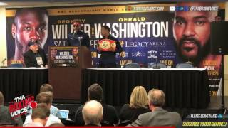 Swift Jarrett Hurd Post Fight Press Conference Live From BJCC in Alabama