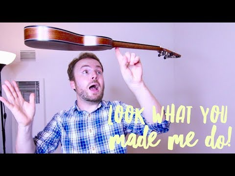 HOW TO PLAY LOOK WHAT YOU MADE ME DO (TAYLOR SWIFT) - ON THE UKULELE!