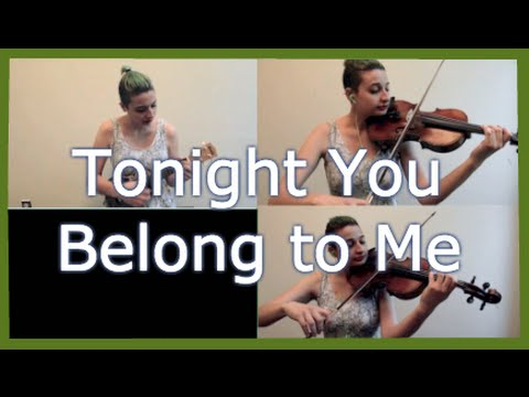 Tonight You Belong To Me Violin And Ukelele Cover Livy Amoruso