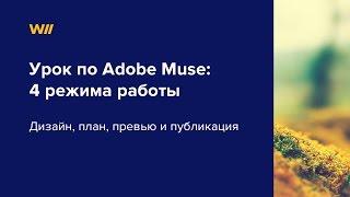 Adobe Muse дизайн, план, превью и публикация  Урок 1