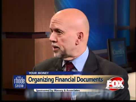 Importance of organizing financial documents