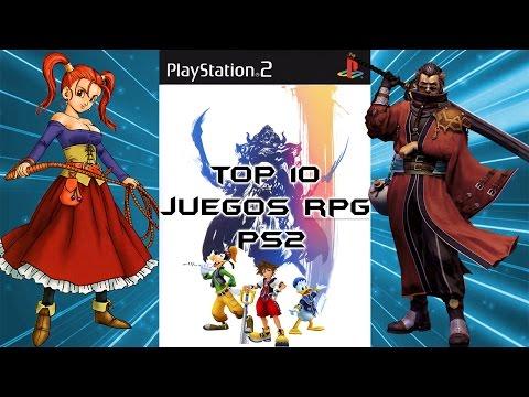 TOP 10 - Juegos RPG PS2 - Los Mejores Juegos De Rol En PlayStation 2