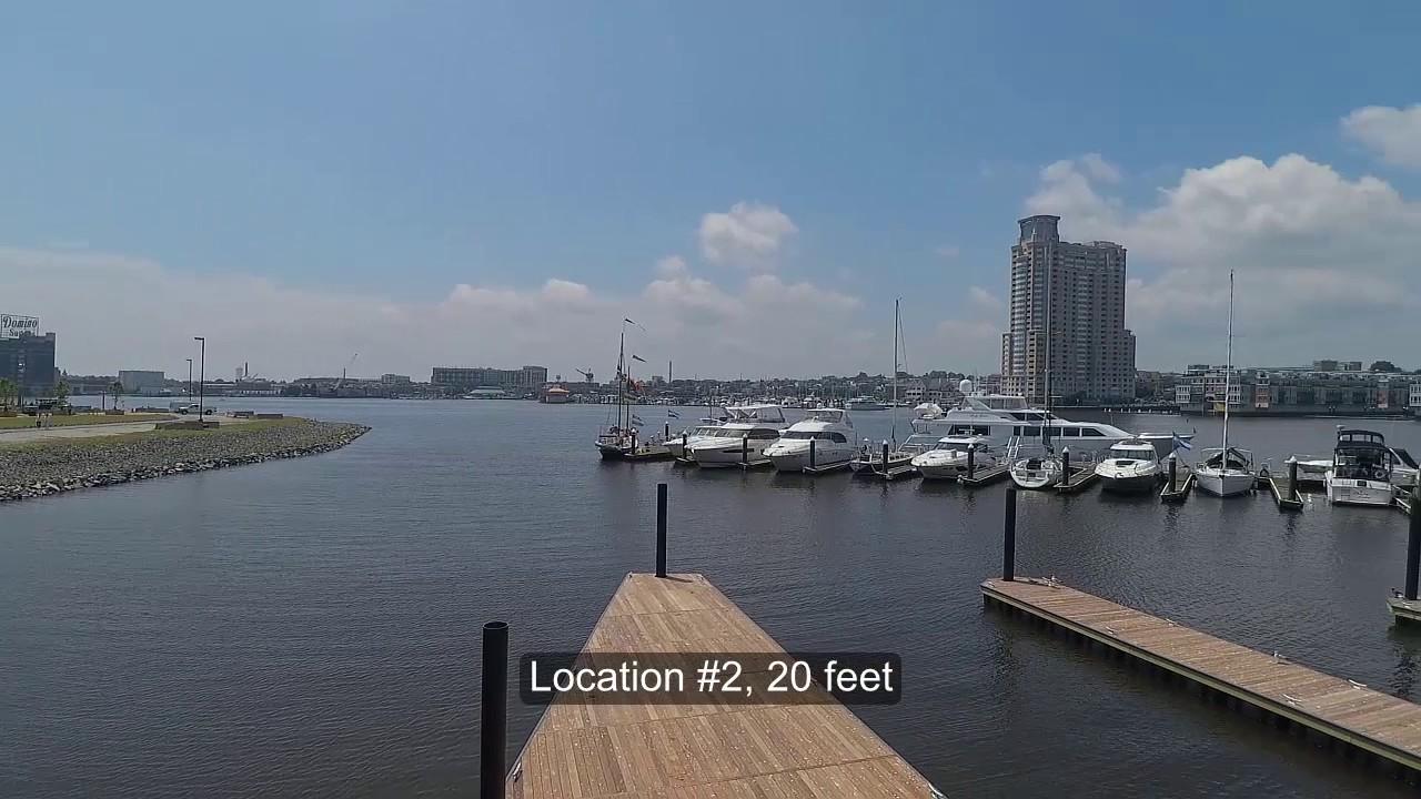 Harbor East Marina - Aura Survey - YouTube