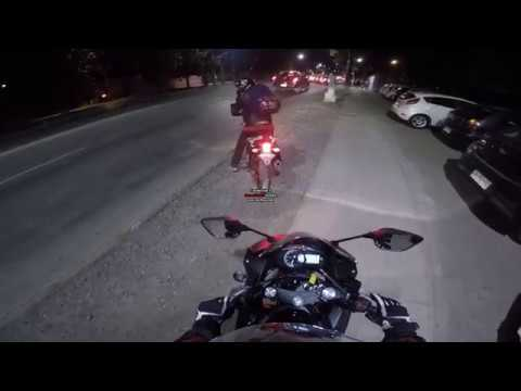 GoPro | Daily ride in santiago, Chile | Test Yamaha R3