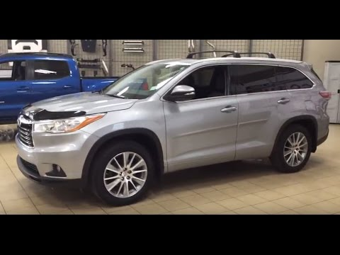 2015 Toyota Highlander Xle Review Youtube