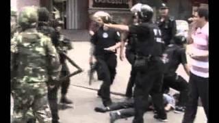 新疆7.5事件维族暴徒杀群众被特警当场击毙录像