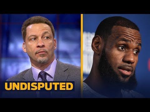 Chris Broussard on why Cavs draft has zero impact on LeBron's decision to stay | NBA | UNDISPUTED