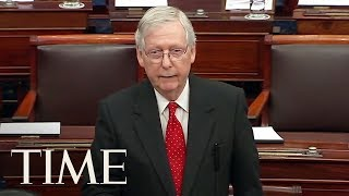 Senator Mitch McConnell Outlines First Day Of Impeachment Trial | TIME