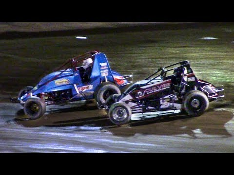 RUSH Sprint Car Feature | Old Bradford Speedway | 5-20-18