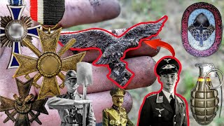 Our most AMAZING WW1 and WW2 TREASURES found with a metal detector in Germany!!