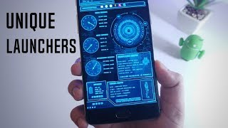 5 More New And Unique Android Launchers You Must TRY - 2017