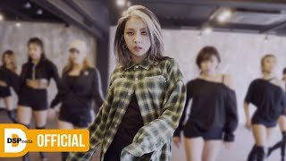KARD JIWOO - Take You Down (by. Chris Brown) _ Choreography Video │ @ Mnet 'GOOD GIRL : 누가 방송국을 털었나'
