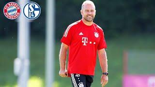 🎙️ Thiago, Fans & Bundesliga-Auftakt | Pressetalk mit Nübel & Flick | FC Bayern - Schalke 04
