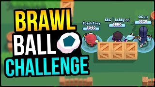 Can I Win vs PRO Brawl Stars Players?? Brawl Ball Challenge!